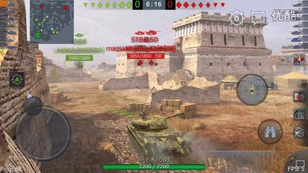 [zerosoap的坦克世界闪电战]:好久没玩,根本不会开炮了。。。