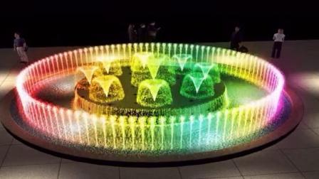 音音乐喷泉效效果