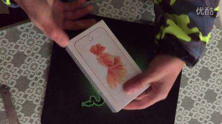 很早的iPhone6s玫瑰金开箱......