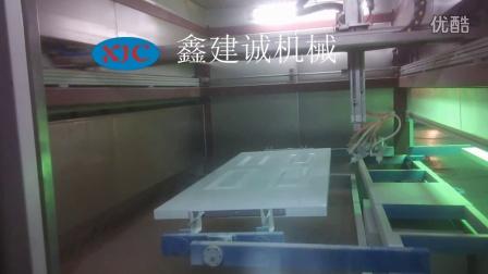 木门喷漆机-复合门喷涂机-自动喷漆设备厂家-鑫建诚自动化