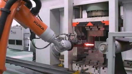 single cylinder crankshaft forged on hydraulic oil press