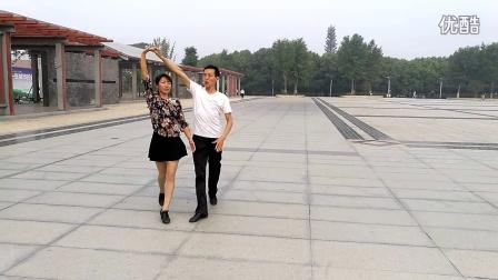 中国汉城交谊舞队慢三教学