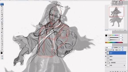 邪术士2:设计线稿