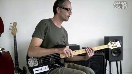 6. Slap bass lesson