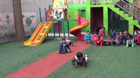 幼儿园比赛爬
