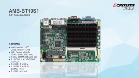 AR-BT18T2FL无风扇嵌入式系统及配备了英特尔Baytrail J1800处理器