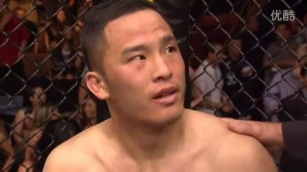 安迪王Andy Wang王伯诚 UFC首秀被秒杀