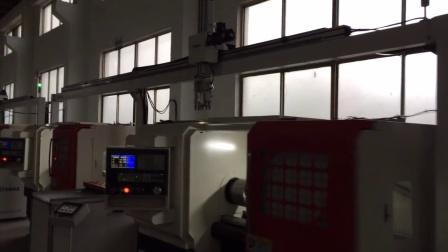 车床机械手 CNC加工中心机械手案例 冲压机械手 电脑锣机械手 工业机器人 自动上下料机械手案例