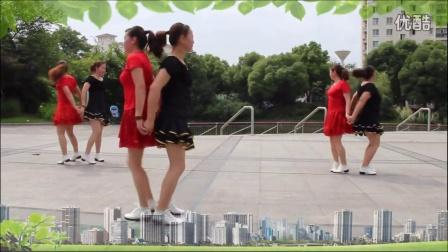 东明广场舞甘心情愿爱着你