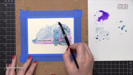 Molotow Masking with Watercolor