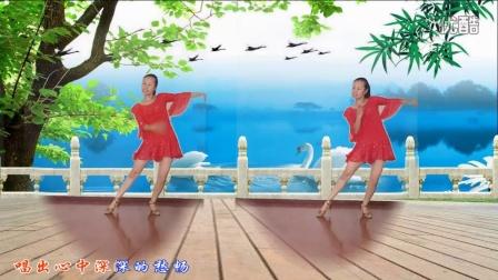 2016年心晴雨晴最新广场舞《一曲相思》编舞:杨丽萍