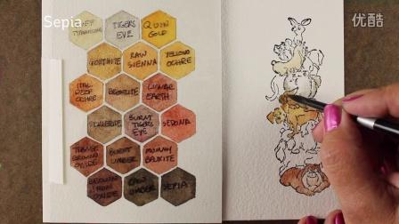 Watercolor Stacker-Slider cards - ft Art Impressions