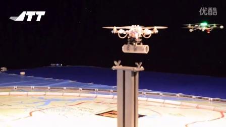 JTT无人机空中特技表演
