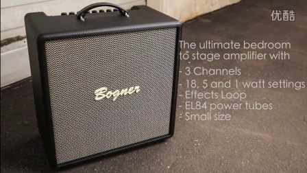 Bogner Atma Carbon Combos and Amp Styled Headshells