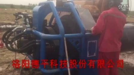 坡口机沧州现场视频