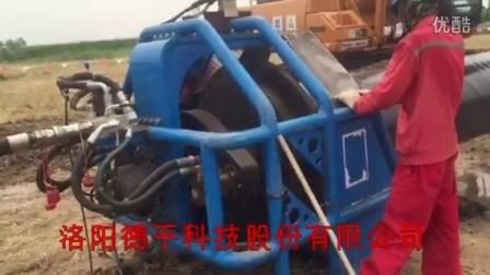 20160622天津LNG坡口机现场视频