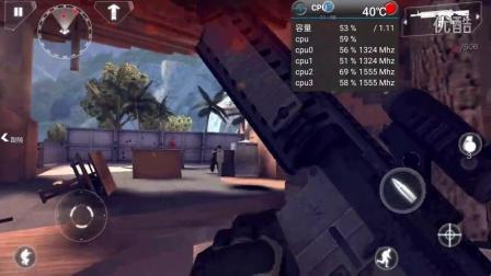 乐视手机之乐max2玩现代战争4温度及cpu性能监视