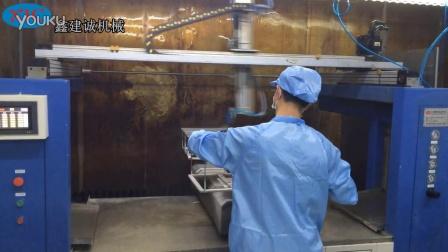 五轴四盘喷漆机-笔记本框架喷涂机-自动喷漆设备厂家-鑫建诚自动化