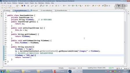 北京动力节点-Java培训教程-Struts2-134-文件下载-中文乱码问题