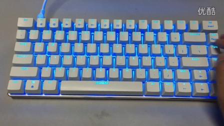 黑爵AK33键盘灯