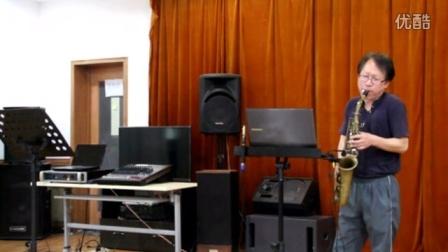 韩国萨克斯乐队使用梦莎乐器演奏现场