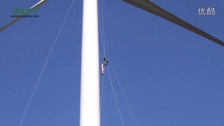 风电救援-安快特提升机与担架配合使用