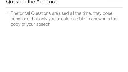 Public Speaking 7 - Beginning and Ending Your Speech