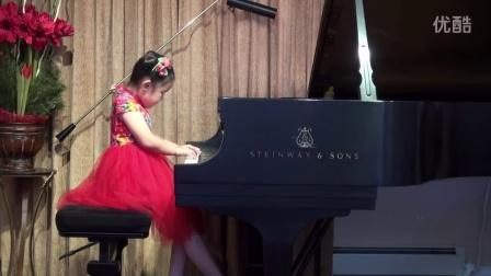 5岁Nini演奏《民歌小曲六首》5 Years Old Nini Lu Plays Six Small Pieces On Folkson