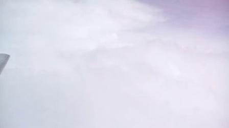 FE9101飞太原空中云彩