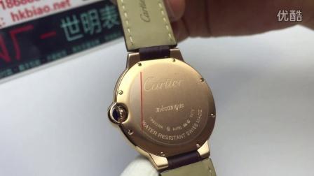 世明表业 www.hkbiao.net 卡地亚男士机械腕表