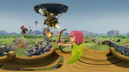 360度视角《部落冲突》3D (部落战争)
