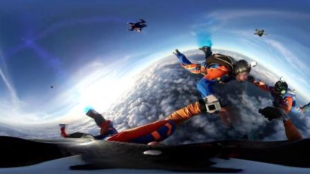 奥运来了,我们跳伞吧。美丽里约360度来一起体验吧 记得带上VR