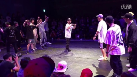 "IROSAKI DANCE FESTIVAL 2016 FREE STYLE CREW BATTLE 決勝 ""D""velopments vs NGB"