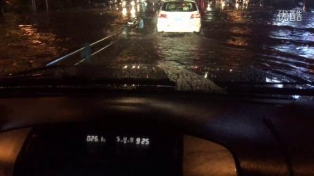 普拉多下关城涉水