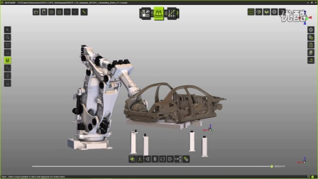 助力川崎机器人 数字工厂软件FASTSUITE