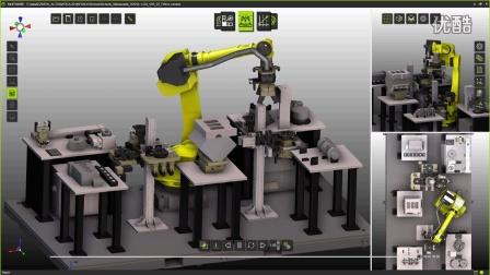 助力德国雄克公司 机器人快换盘 数字工厂软件FASTSUITE