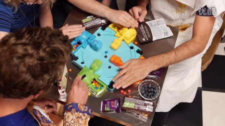 PLAYING HUNGRY HUNGRY HIPPOS BOARD GAME