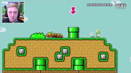 Super Mario Maker Falling, With STYLE!! (Reddit