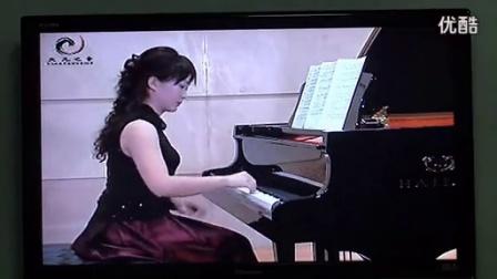 胡老师琴校 钢琴十级 谐谑曲 门德尔松曲 高清