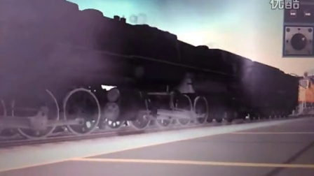TRS重车起车(本务机车SD40-2)