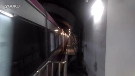 天津地铁6号线长虹公园站(南翠屏方向)