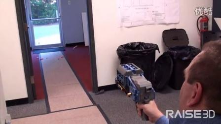 Raise3D打印可编程的泡沫飞镖发射器FDL-1
