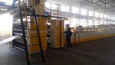 1800mm 5ply corrugated cardboard production line running speed 150m-min_标清