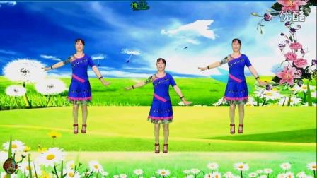 建阳村广场舞 《溜溜的山赛溜溜的醉》制作演示 一山青水秀  编舞一陈敏