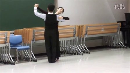日本摩登舞初学者教学-维也纳基本套路(数拍) 2016.7.15