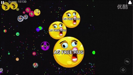 球球大作战-Agar.io Solo Biggest Split Dominating Agario Epic Gameplay
