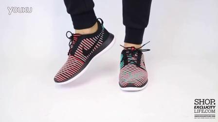 Nike Roshe Two Flyknit Bright Crimson 上脚欣赏