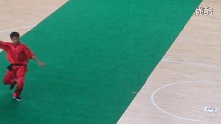 2016广东省武术锦标赛 怀集赛区 阳春市武术协会洪飞武馆—佛家拳(梁方伍流派)猛虎下山 参赛者:严敌龙(红色衣服者也)