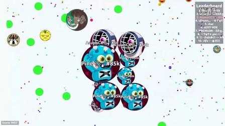 Agar.io球球大作战-最快速的DOUBLE SPLIT