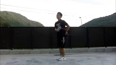 縄跳び 日々の練習 Aug-15-2016 rope skipping day-to-day practice